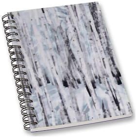 RADANYA Abstract A5 Notebook Wirebound Ruled Paper Diary