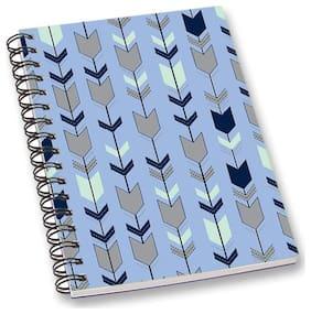RADANYA Arrow A5 Notebook Wirebound Ruled Paper Diary