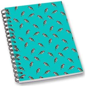 RADANYA Bird A5 Notebook Wirebound Ruled Paper Diary
