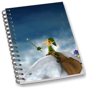 RADANYA Christmas A5 Notebook Wirebound Ruled Paper Diary