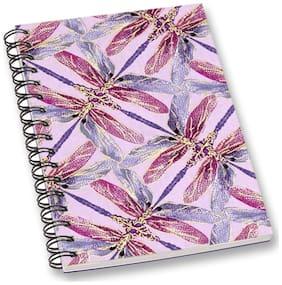 RADANYA Leaf A5 Notebook Wirebound Ruled Paper Diary