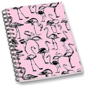 RADANYA Swan A5 Notebook Wirebound Ruled Paper Diary