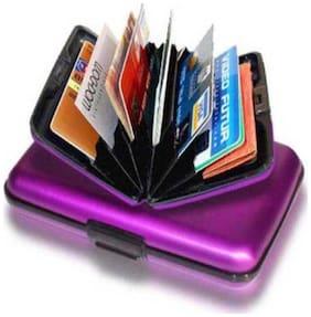 Raj Enterprise Aluminium (Aluma) ATM Cash Credit Card Holder Unisex Wallet Purse