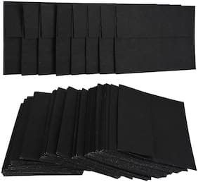 Rajrang Black Colored Office Business Mailing And Letter Envelopes - Pack Of 100 Pcs.