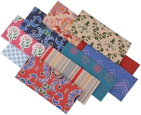 Rajrang  Gifting Envelope Printed Work Shagun Money Paper Envelopes - Pack Of 10 Pcs.