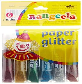 Rangeela Sparkle Color, 6 Shades - 5ml each