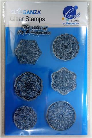 Rangoli Designs Rubber stamp craft
