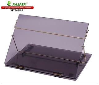 Rasper Smoke Acrylic Writing Desk Acrylic Table Top Elevator (BIG SIZE 24x18 inch) Premium Quality 8MM