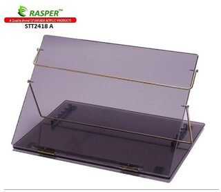 Rasper Smoke Acrylic Writing Desk Acrylic Table Top Elevator (BIG SIZE 24x18 Inches) Premium Quality 8MM