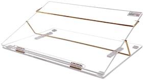 Rasper Clear Acrylic Writing Desk Acrylic Table Top Elevator (Big Size 24x18 Inches) Extra Heavy Quality 10MM