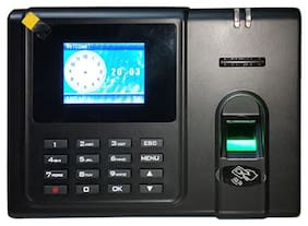 Realtime RS10 Biometric Fingerprint Attendance Machine with Access Control and Battery Backup, 3000 Users, LAN, USB, (Fingerprint, Card, Password) 300000 Logs, Color Screen White Box