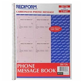 Rediform Professional While You Were Out Book - 200 Sheet[s] - Wire Bound -