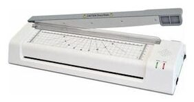 Reetrix Lamination Machine A3;A4 Size Multi Functional with inbuilt Paper Cutter Corner Rounder Laminator Stylish