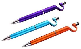 Remi Excel P76 Ball Pen ( Blue , Set of 3 )
