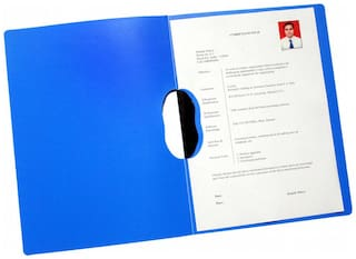 Report Cover (swing Clip) (pack Of 10) - Blue