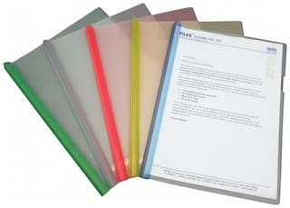 Report Cover (strip File - Wide & Thick) (pack Of 10)