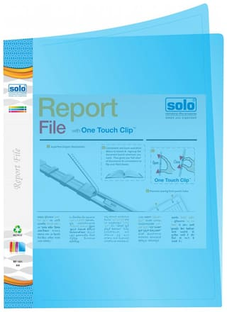 Report File-blue (pack Of 10)