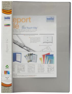 Report File-grey (pack Of 10)