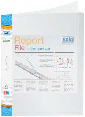 Report File-white (pack Of 10)
