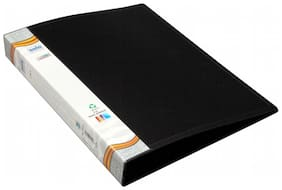 Ring Binder-2-D-Ring (Pack Of 2) - Black
