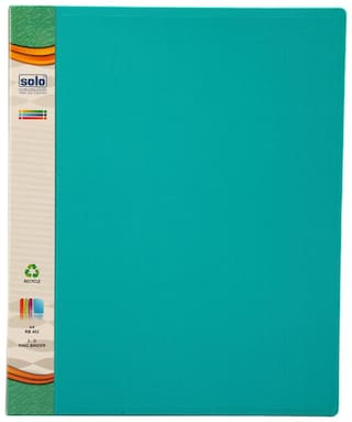 Ring Binder-2-D-Ring (Pack Of 2)-Green