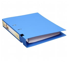 Ring Binder-2-D-Ring (40 Mm Ring;Rado Lock) (Pack Of 2)-Blue