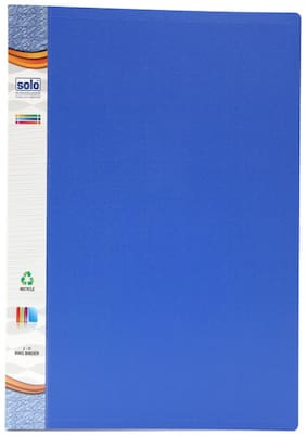 Ring Binder-2-O-Ring (Pack Of 2) - Blue