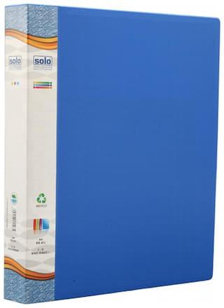 Ring Binder-3-D-Ring (Pack Of 2)-Blue