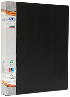 Ring Binder-4-d-ring (pack Of 2)-black