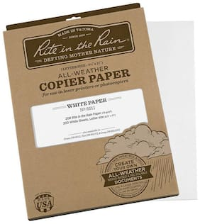 Rite in the Rain Copier Paper White 200 Sheets
