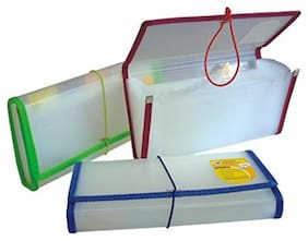 Ritzees Cheque Case(White)