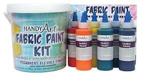 Rock Paint / Handy Art - Handy Art Fabric Paint Bucket Kit - 4 oz Bottles