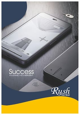Rush 100 Pages A4 Notebook (Pack of 6)