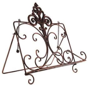 Rustic Copper Cast Iron Book Easel, Cookbooks, Music Sheets, Free Shipping!
