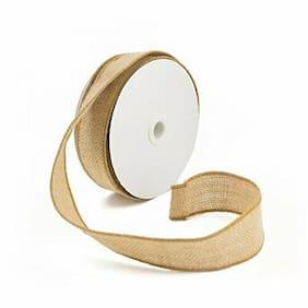 Rustic Jute Burlap Ribbon Spool Trim Edge Vintage DIY Crafts 10 Yards  BULK