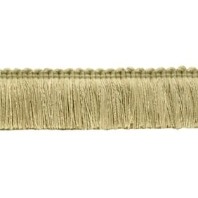 "Sandstone Light Beige|1.75"" Brush Fringe Trim
