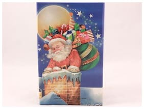 Santa Organizer with Magnetic Closure. Notepad, Daily Planner, Address Book