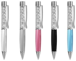 SC Crystal Pen ( Pack of 2 - Assorted Color) W/CASE