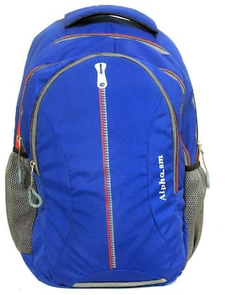 ZUKUNFT FASHION 30l Backpack & School bag - Blue