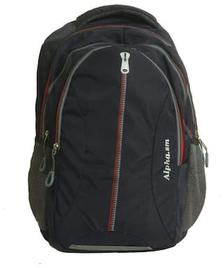 GLUCKLICH 30l School bag - Navy blue