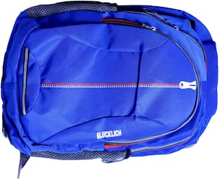 GLUCKLICH 30l School bag - Blue