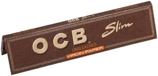 SCORIA King Size Brown Rolling Paper Pack of 5 Booklet (160 Leaves) Assorted