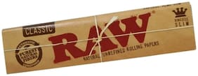 SCORIA RAW King Size Classic Rolling Paper Pack of 20 (640 Leaves)