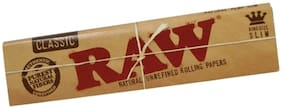 SCORIA RAW King Size Classic Rolling Paper Pack of 25 (800 Leaves)