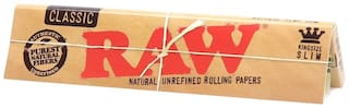SCORIA RAW King Size Classic Rolling Paper Pack of 50 Full Box (1600 Leaves)Assorted