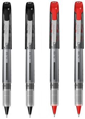 Scrikss 0.3mm Fineliner Pen - 2 Black & 2 Red - FL68