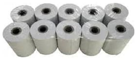 Security store 2 inch white plain thermal paper rolls (set of 20 rolls)