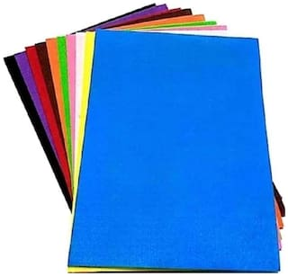 SelectionWorld Art & Craft Felt  A4 Foam Papers (Pack Of 10)