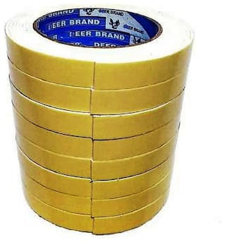 SelectionWorld Manual Double Sided 20 MM Foam Tapes (Pack Of 8)
