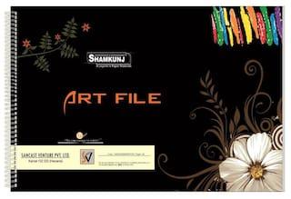 SHAMKUNJ Art File 25 sheets;Artists Book